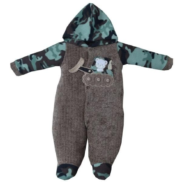 Macacão Soft Camuflado Pro Baby 8382
