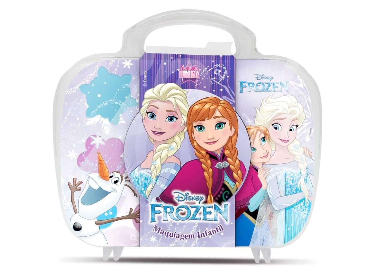 Maleta de Maquiagem Infantil Frozen