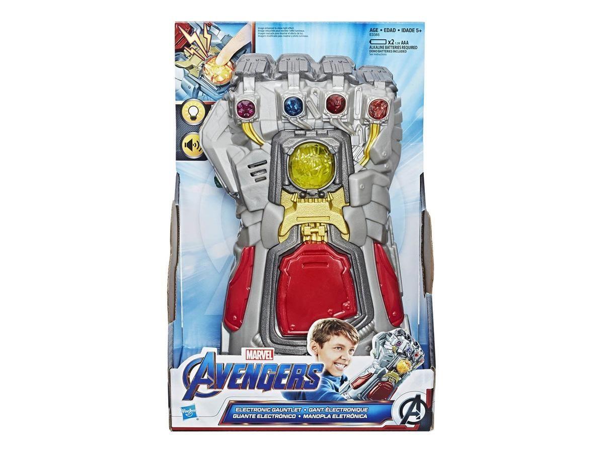 Manopla Luva Eletrônica Marvel Vingadores Guerra Infinita Thanos E3385