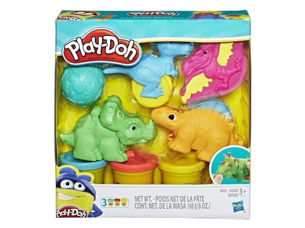 Massinha Play Doh Dino Hasbro E1953