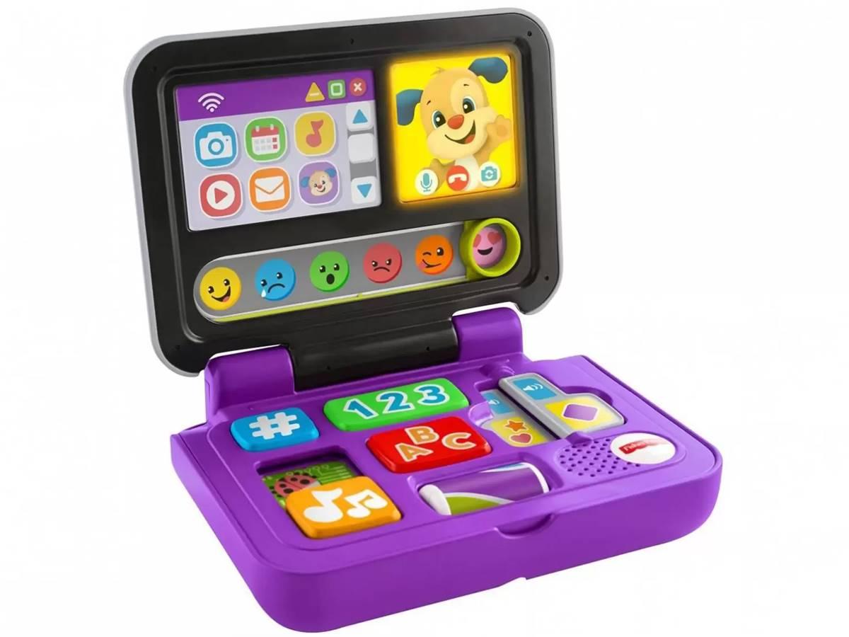 Meu Primeiro Laptop Aprender e Brincar - Clicar e Aprender Fisher Price Mattel