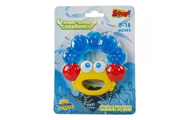 Mordedor Chocalho Caranguejo Zoop Toys ZP00127
