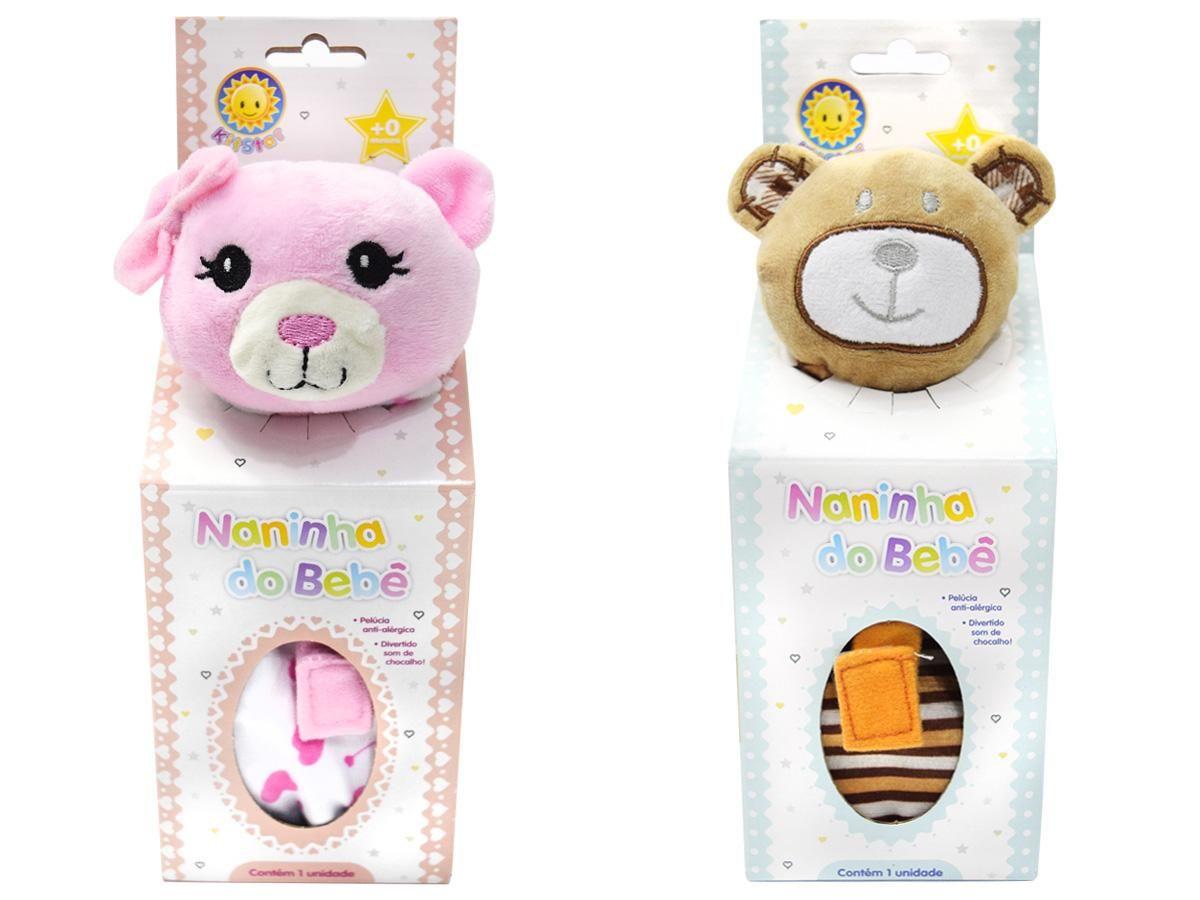 Naninha do Bebê Pelúcia Kitstar NB7010