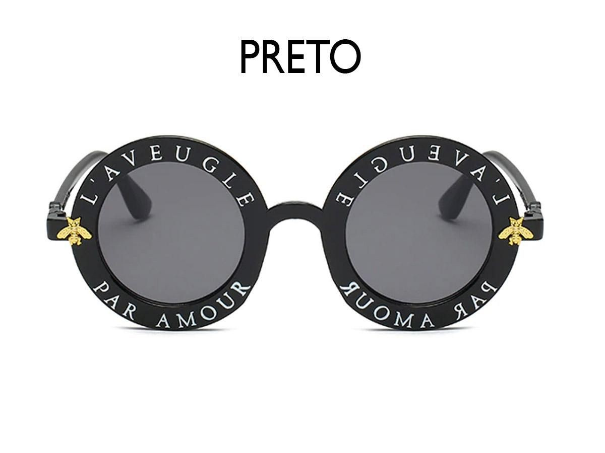 Óculos de Sol Infantil Laveugle Preto OC014