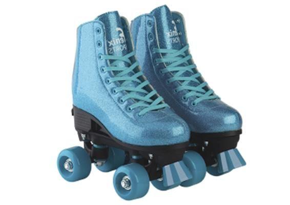 Patins Quad Roller Skate Ajustável Fenix Original Glitter PB01