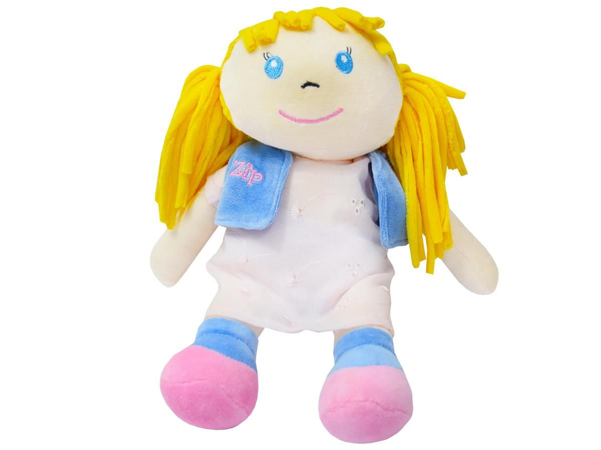 Pelúcia Boneca Débora Zip Toys 383646