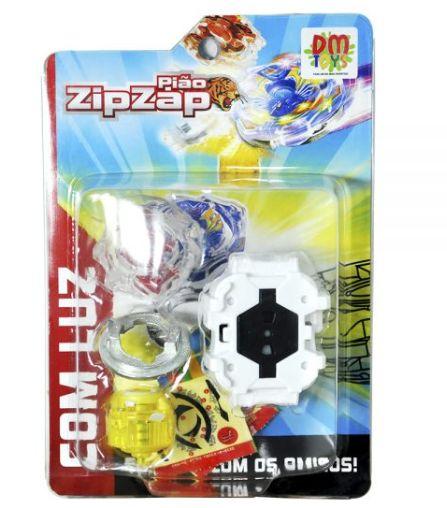 Piao Zip Zap Com Luz DM Toys DMT5388