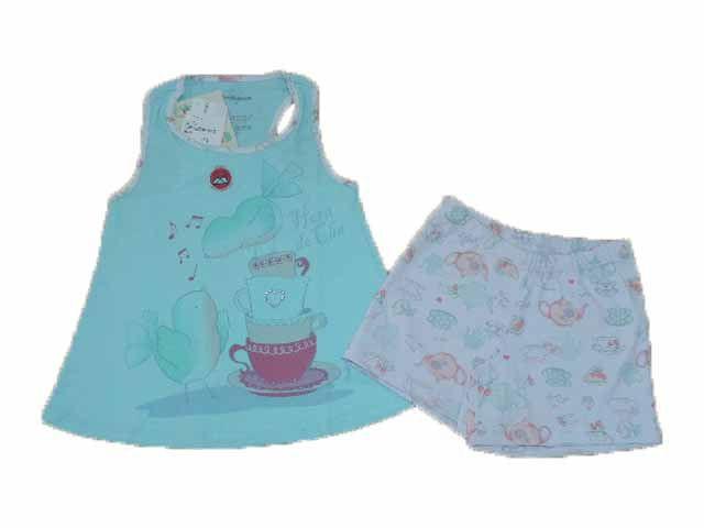 Pijama Feminino Bata e Short Dedeka