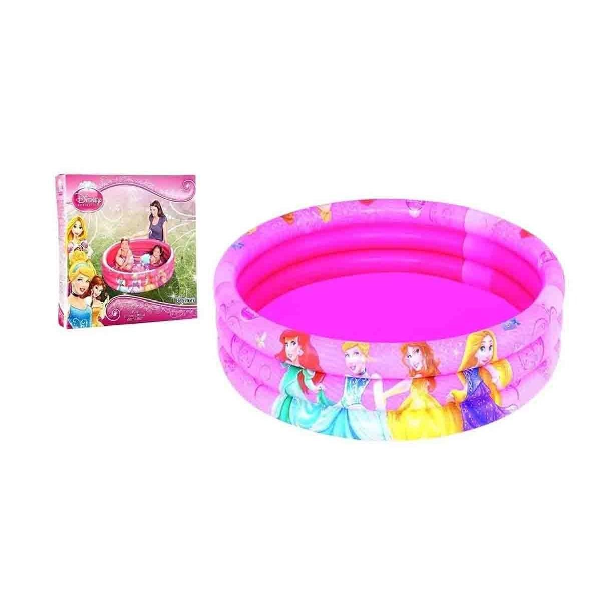 Piscina Banheira Inflável Princesas 140 Litros Infantil Mor Bestway 91047