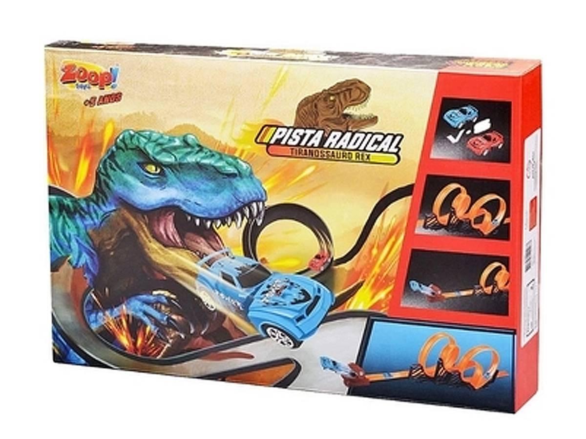 Pista Radical Desmontável Tiranossauro Rex Zoop Toys