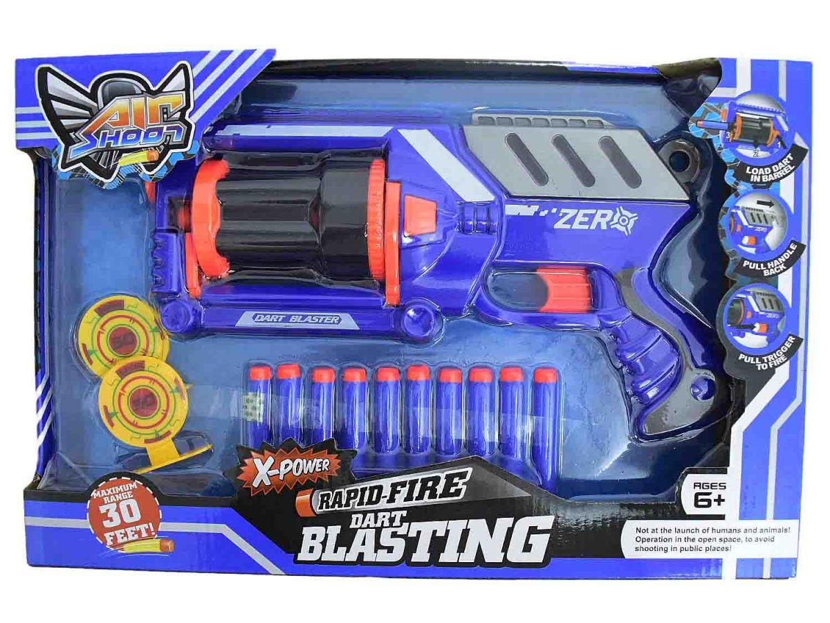 Pistola Dardos 10 Dardos ASH152870