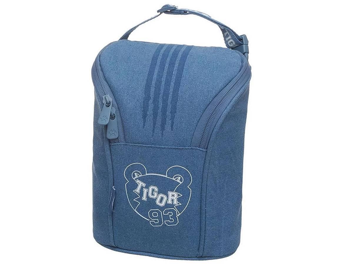 Porta Mamadeira Tigor T. Tigre Baby To Go Azul Luxo 6770343