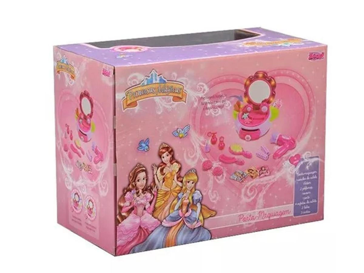 Porta Maquiagem Princesas Magicas Zoop Toys ZP00198