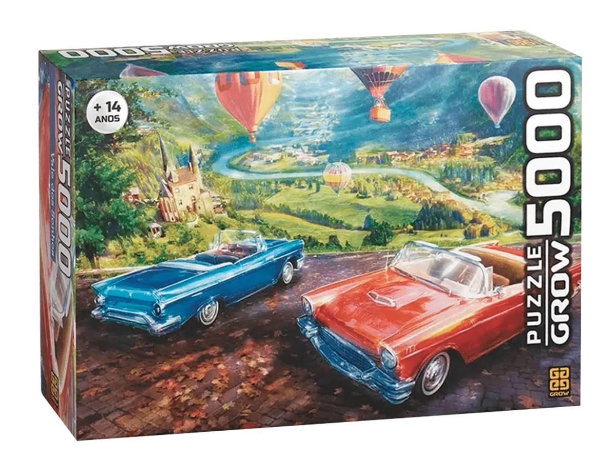 Quebra Cabeça Vale Dos Sonhos Puzzle 5000 Peças Grow 03740