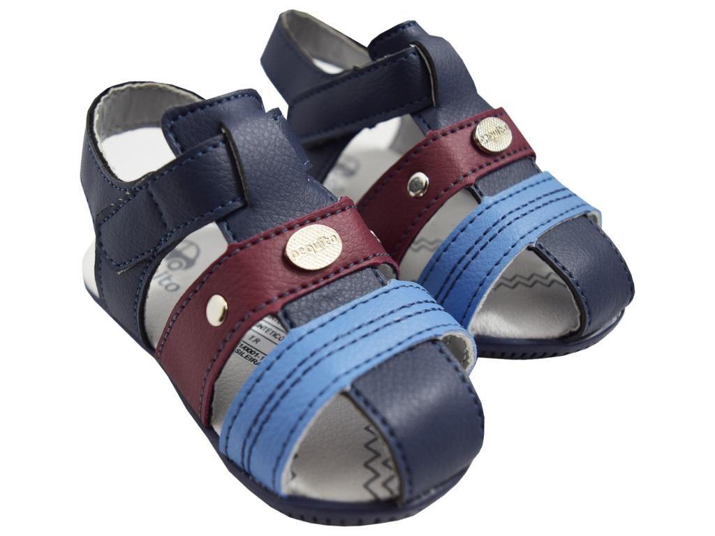 Sandália Masculina com Velcro Pequito