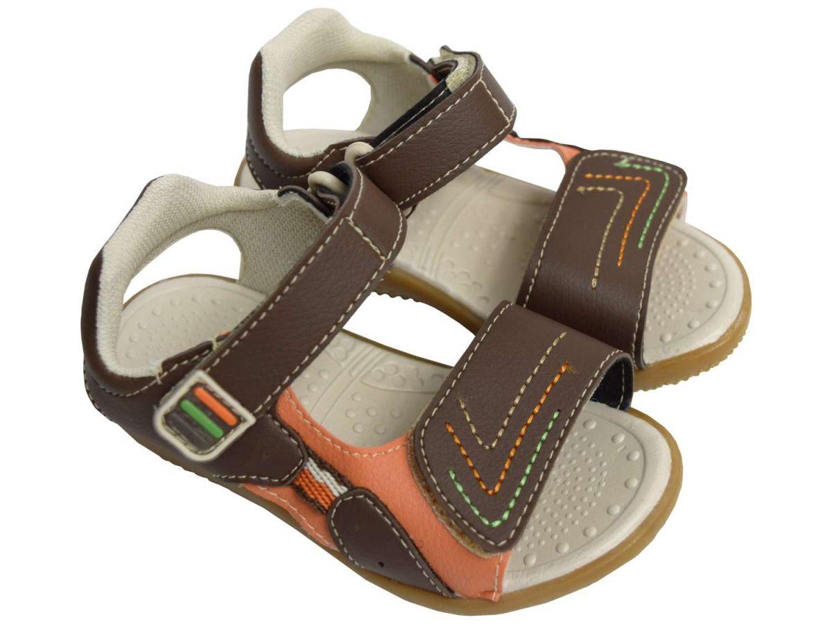 Sandália Masculina Velcro Beakid