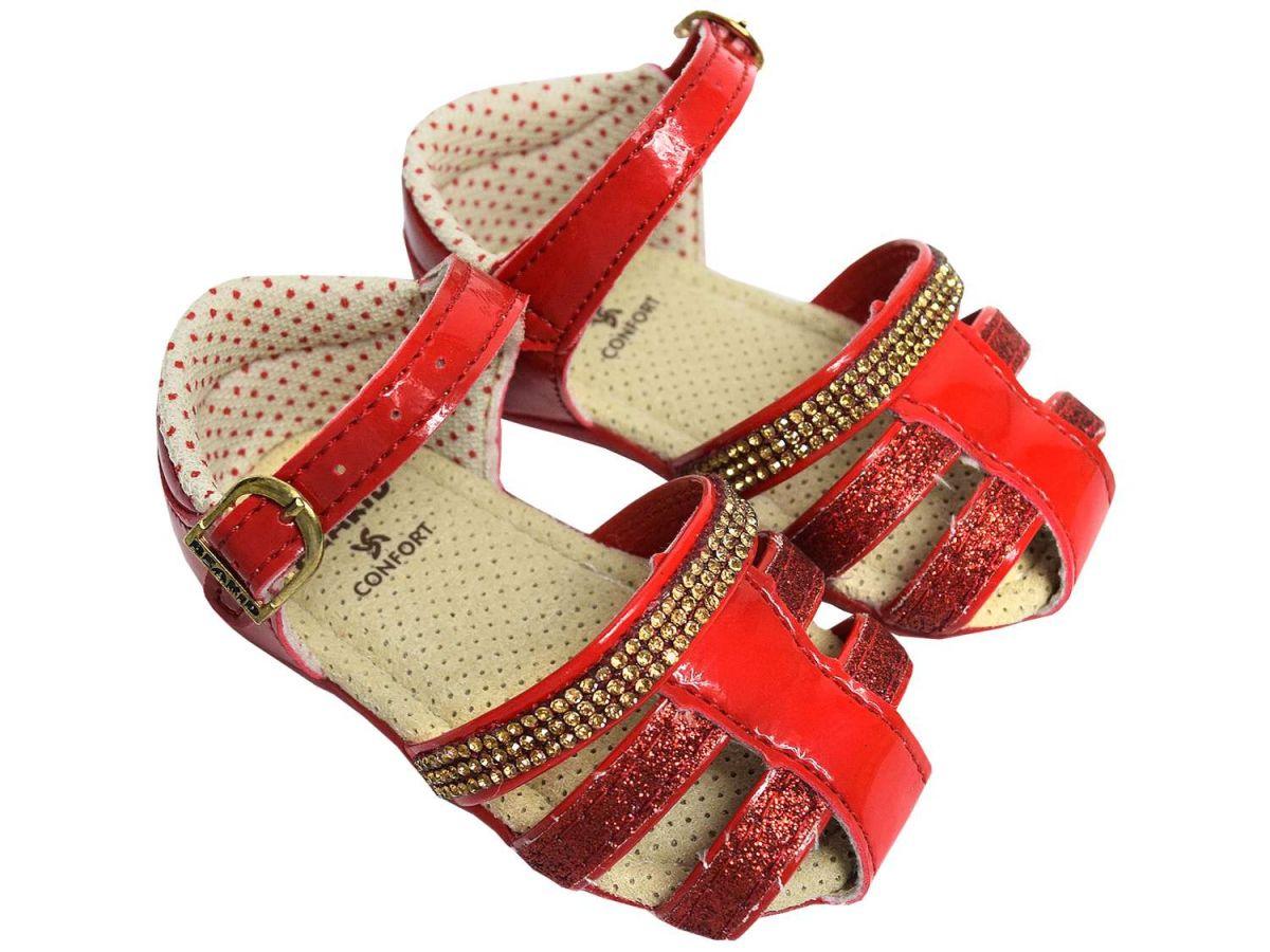Sandália Vermelha Beakid