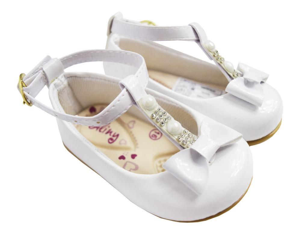 Sapatinho Boneca Branco Aliny