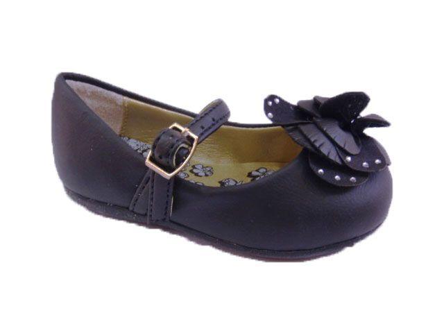 Sapato Bailarina Preta Pampili
