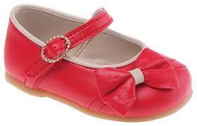 Sapato Boneca Vermelho Pimpolho