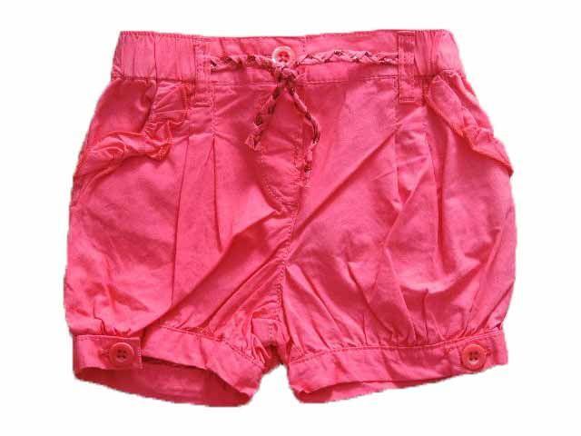Short Feminino Primeiros Passos Pink