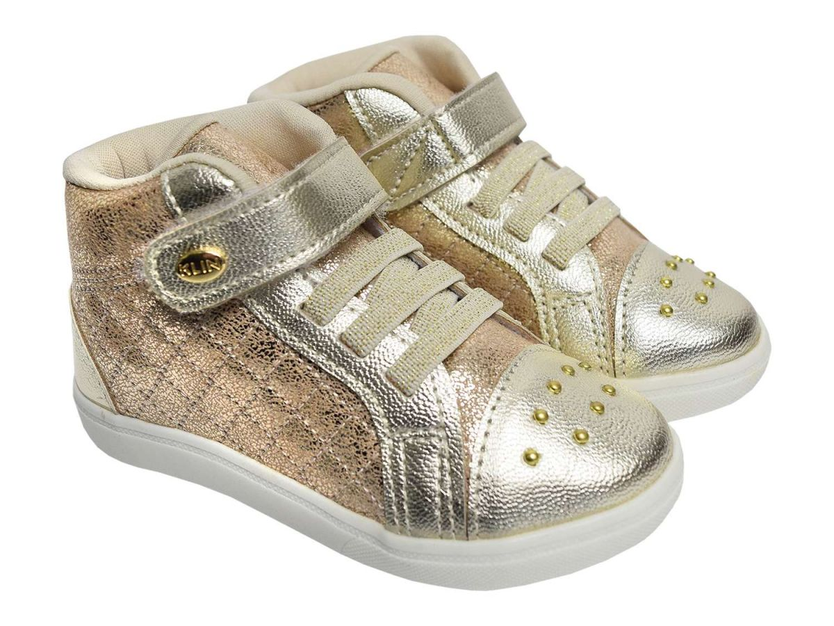 Sneakers com Velcro Klin
