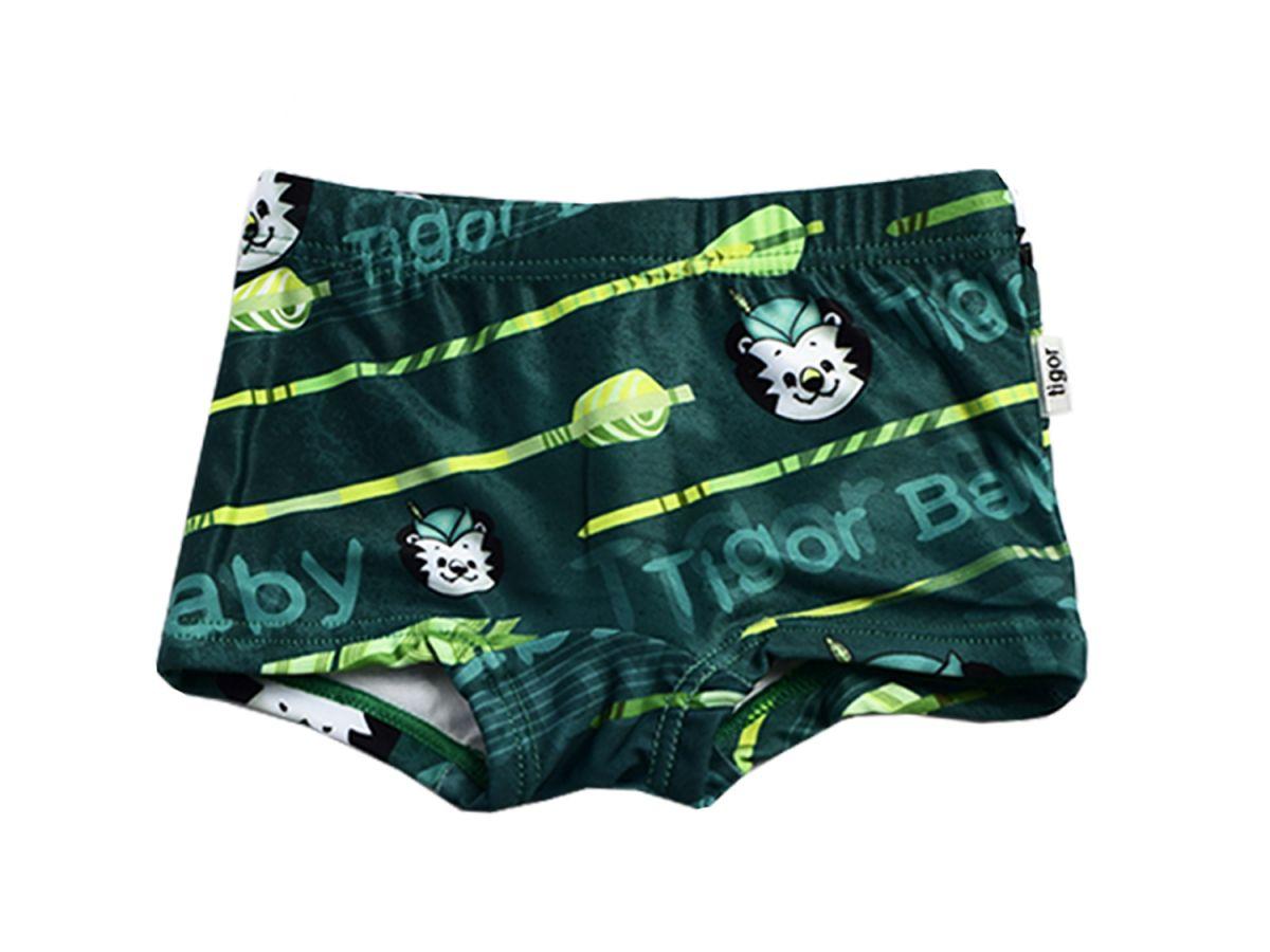 Sunga Boxer Baby Verde Tigor T.Tigre