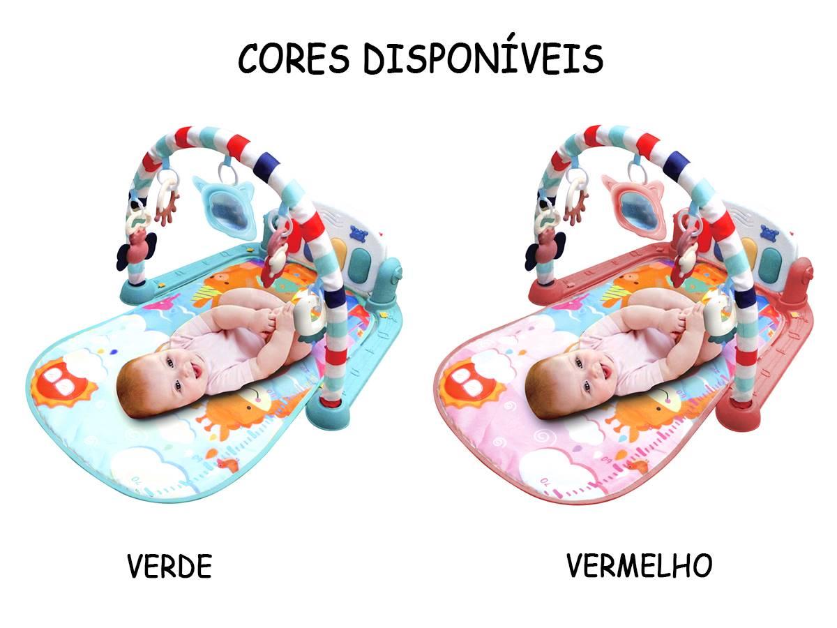 Tapete de Atividade Ginásio Musical do Bebê Som e Luz Kitstar 630