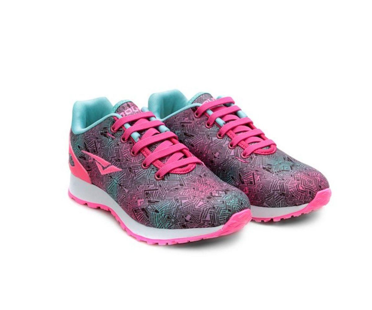 Tênis Escolar Pink Cadarço Elástico 4514A1017