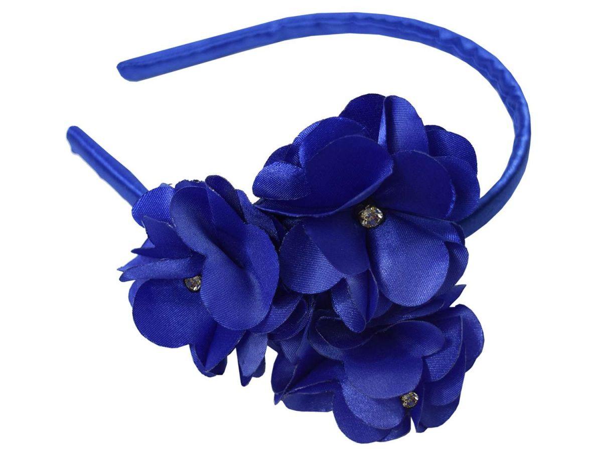 Tiara Azul 2 Flores Doce Fruto