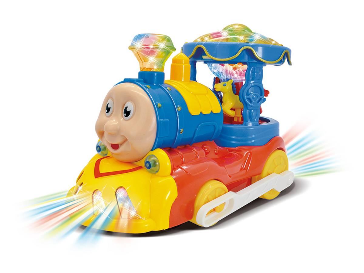Trenzinho Carrossel Bate e volta DM TOYS - DMT5107
