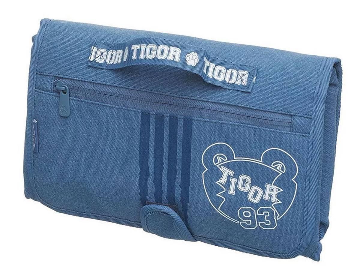 Trocador de Fraldas Tigor T.Tigre Baby To Go Azul Luxo 6770344