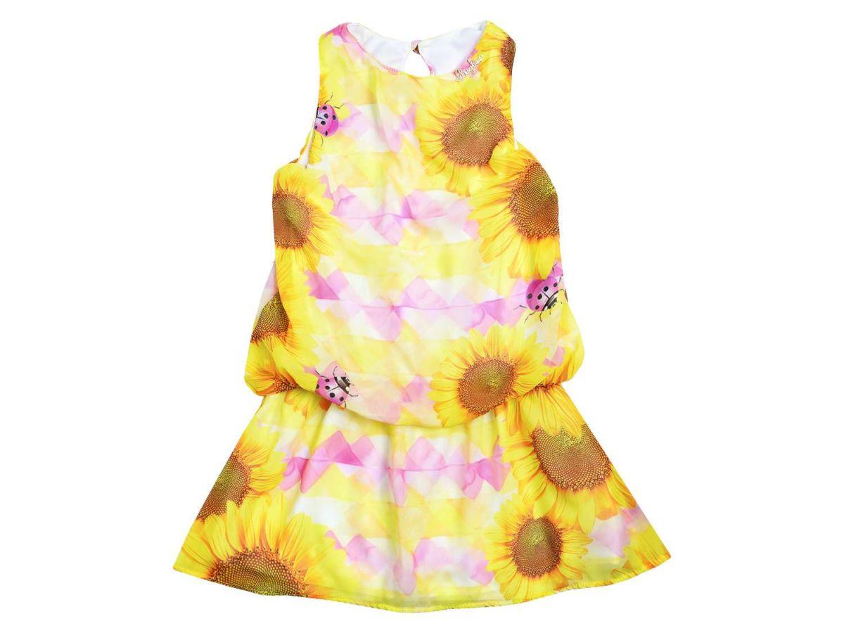Vestido Amarelo - Girassol Bugbee