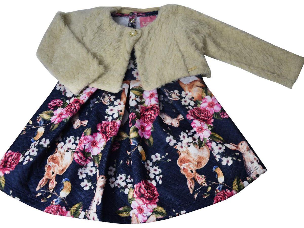 Vestido com Bolero Le Petit
