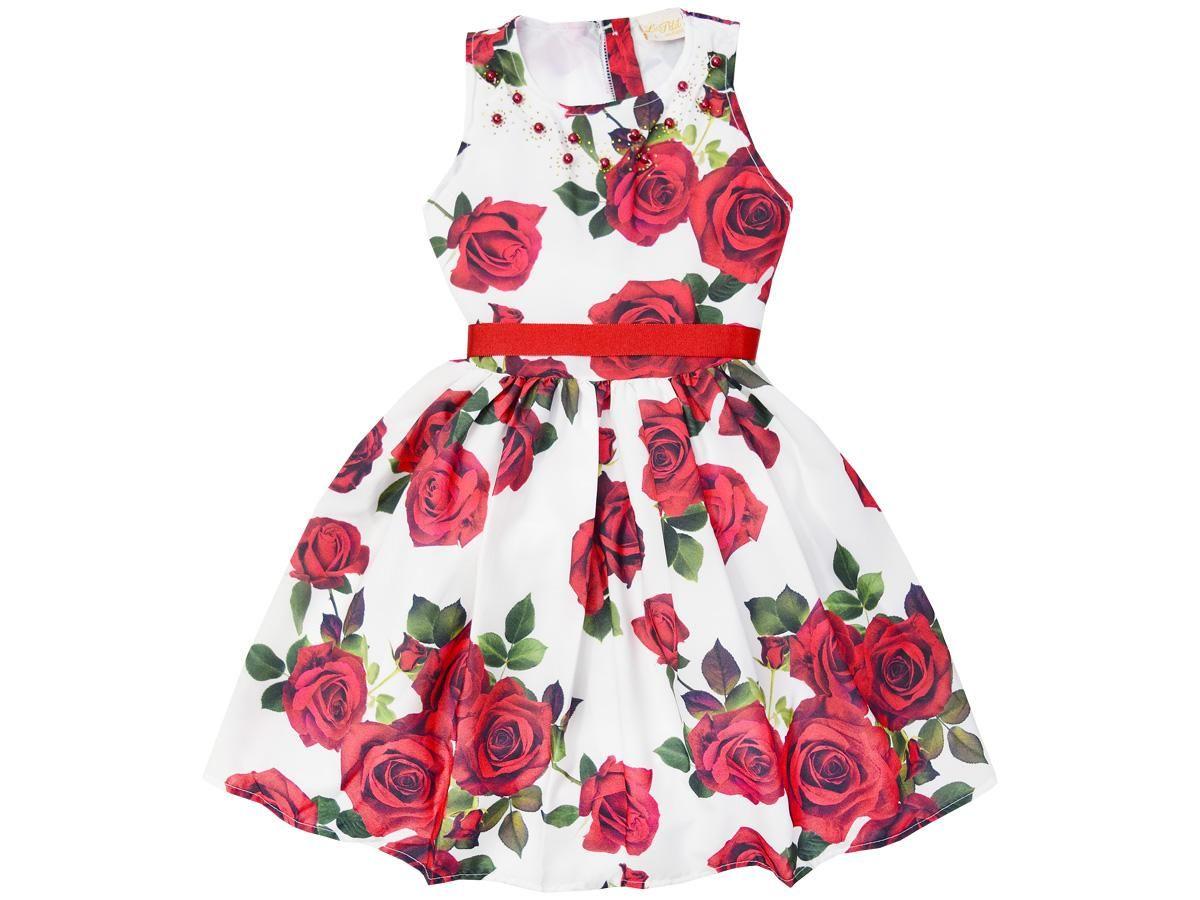 Vestido Estampa Rosas Le Petit 30910