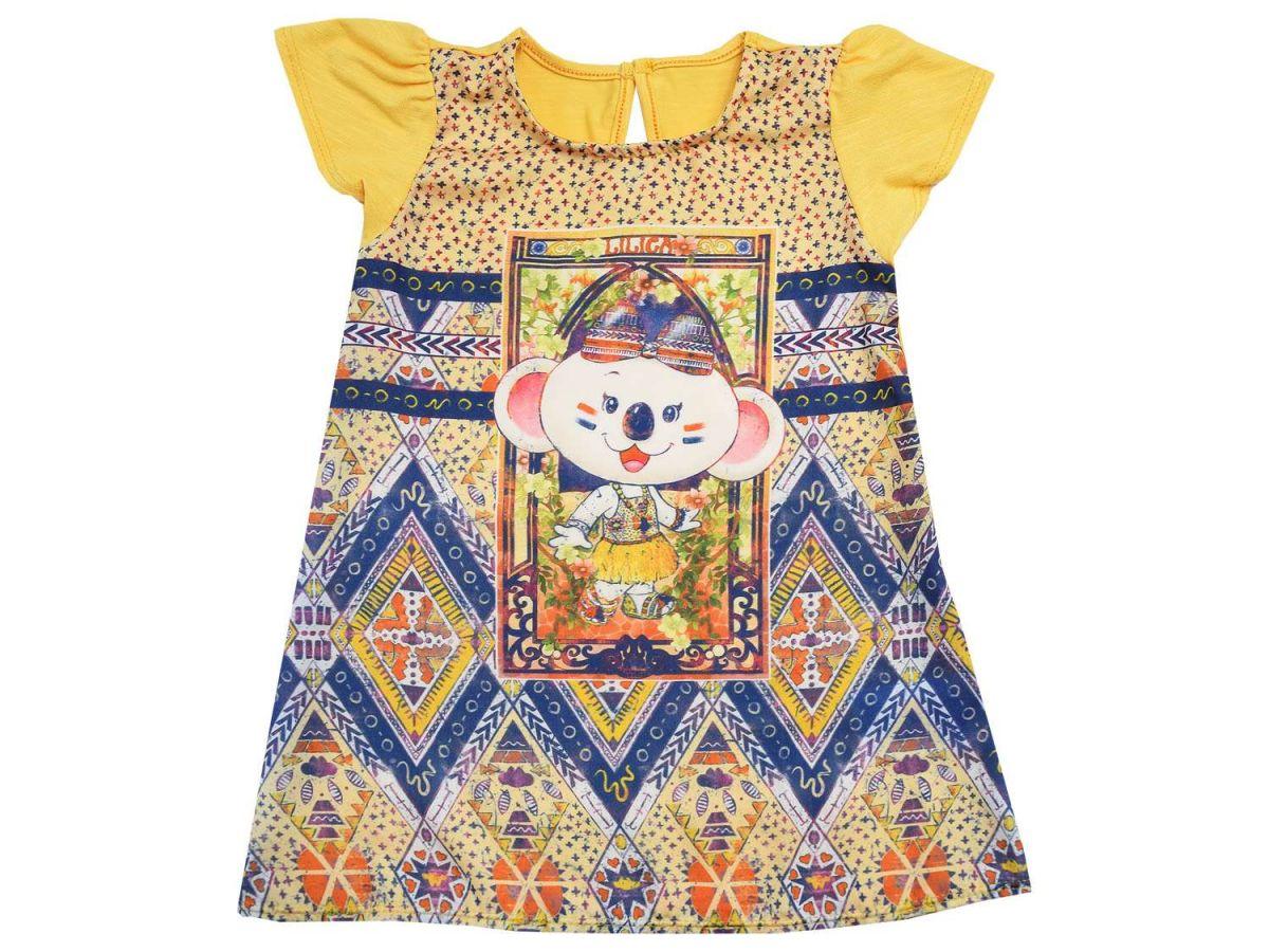 Vestido Estampado Lilica Ripilica Infantil