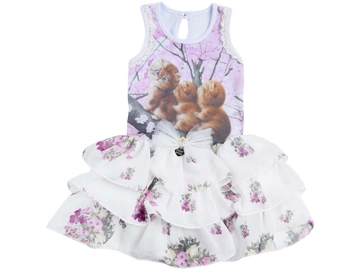 Vestido Festa Mini Miss