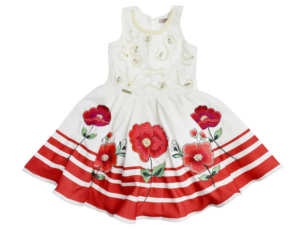 Vestido Florido Kukixo