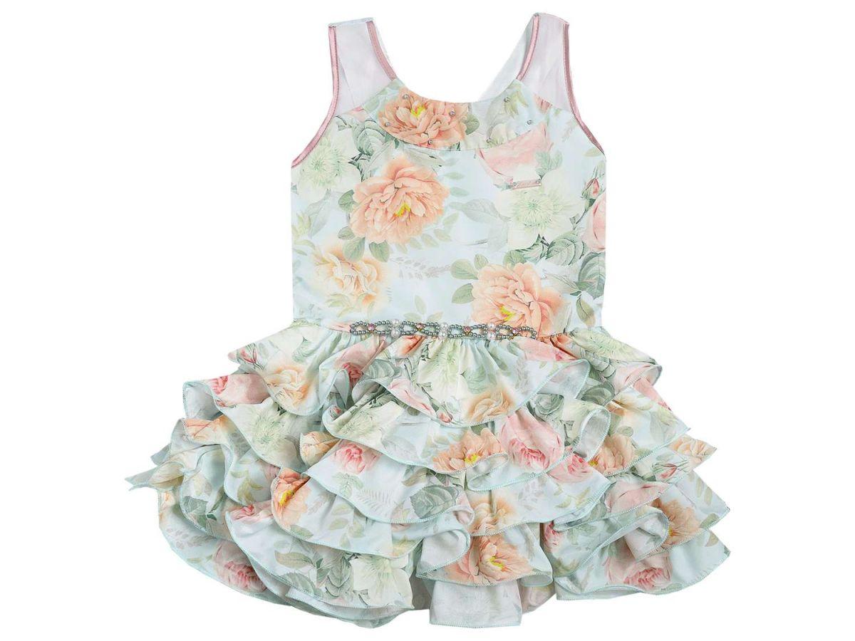 Vestido Florido Mini Miss