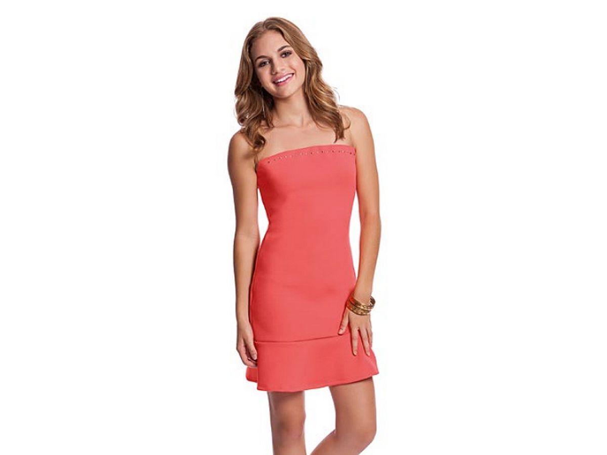 Vestido Lyzy Coral