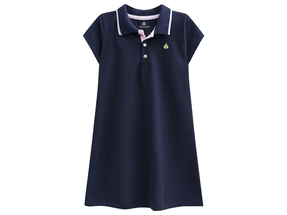 Vestido Polo Azul Marinho Açucena A2451