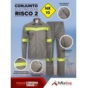 Conjunto Eletricista Risco 2 - NR10