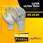 Luva Ultra Tech Cut5 PU 9.678 PUC