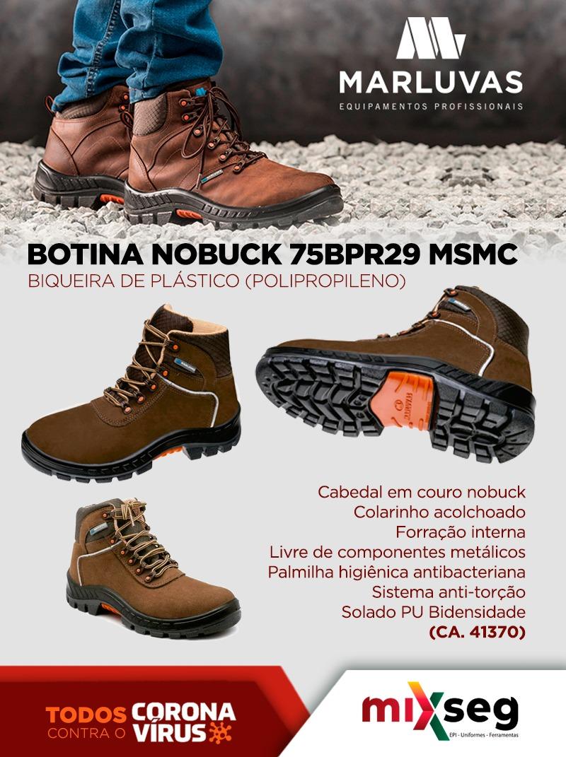 Botina Nobuck Premier Marluvas - 75BPR29