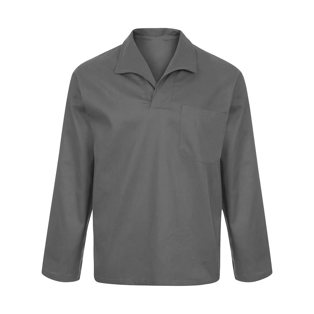 Camisa Brim Manga Longa Gola Italiana