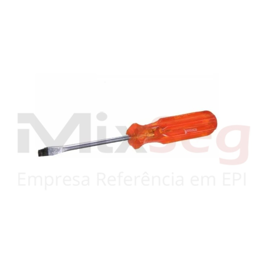 Chave de Fenda Magnética CV 1/8x4 Jomarca