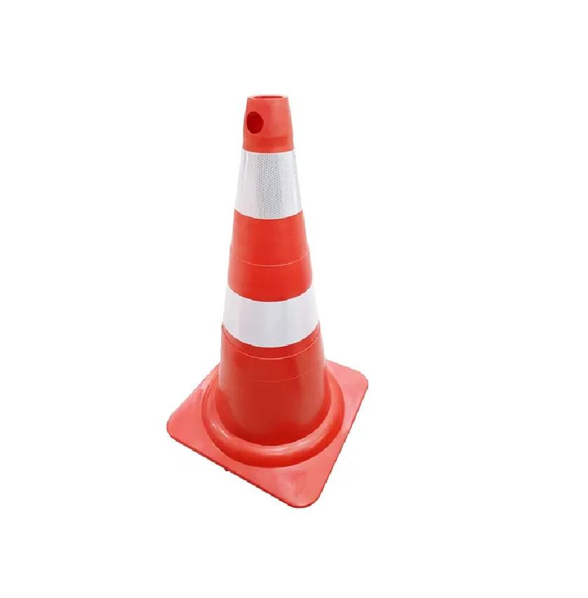 Cone Flexível Norma ABNT 15071 Laranja C/ Refletivo