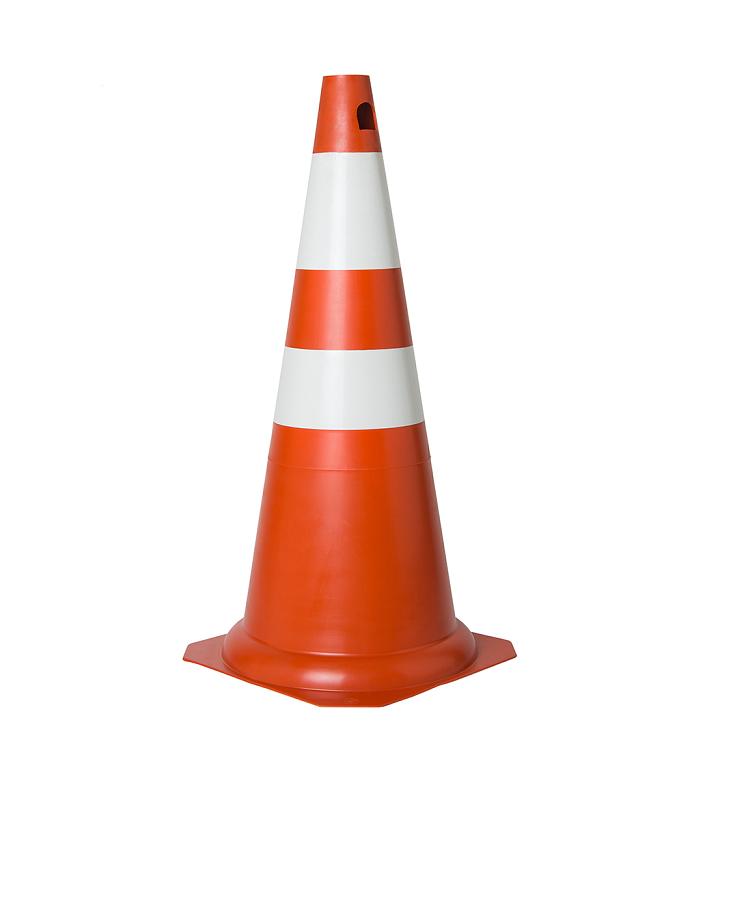 Cone Para Sinalização PVC  75cm