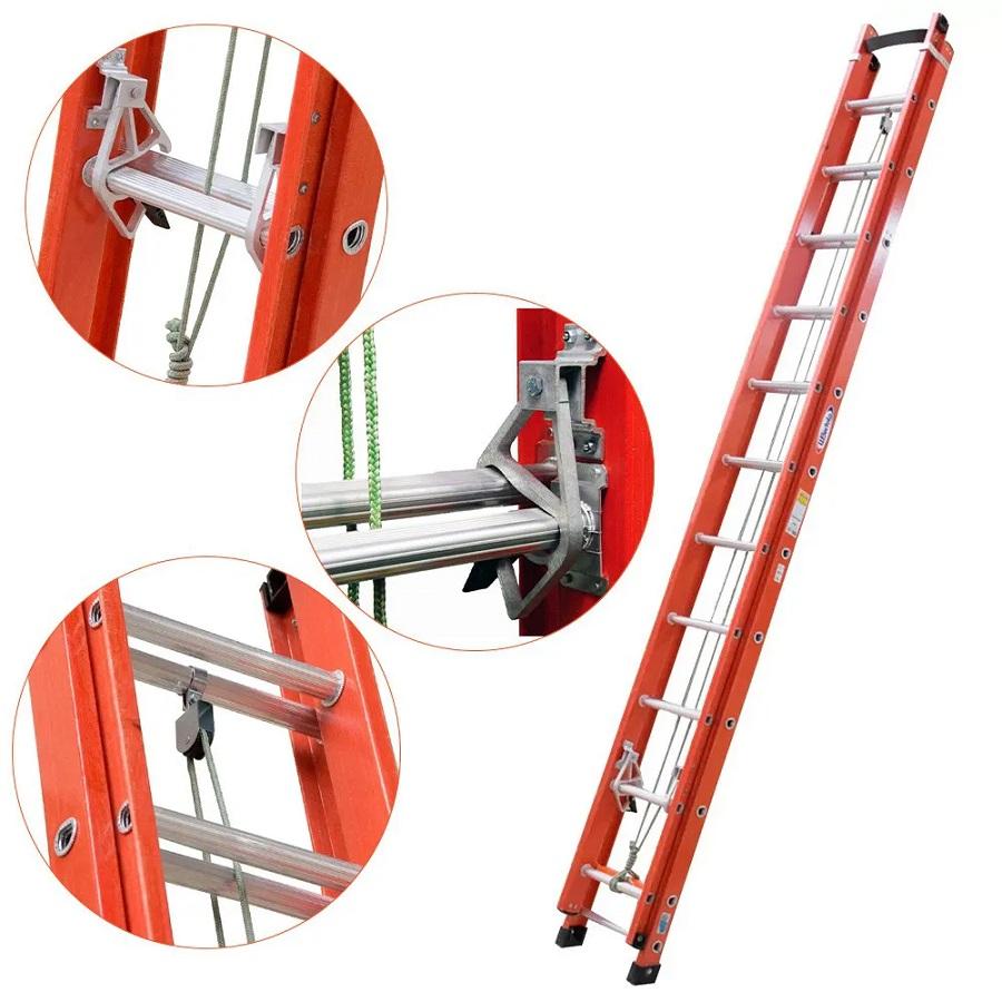 Escada Extensível Vazada 19 Degraus 6 Metros - EAFV19 WBERTOLO