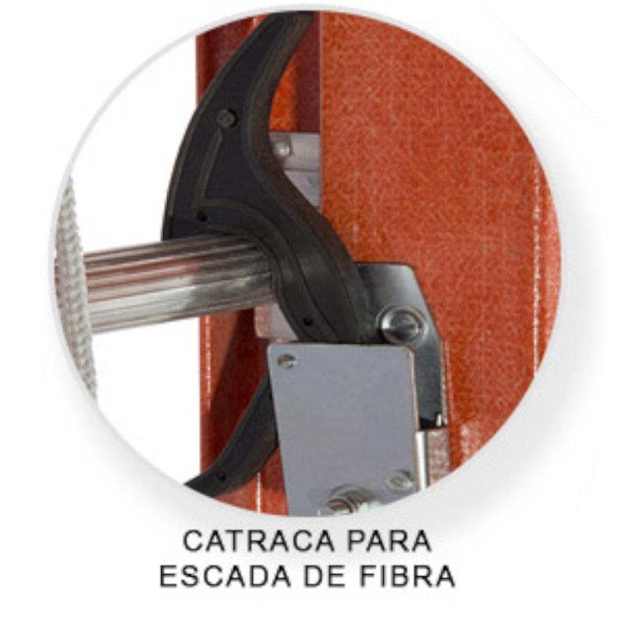 Escada Extensível Vazada 3,60 X 6,00 Metros Ef101- ESCA-FORT